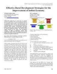 Effective Rural Development Strategies for the Improvement of ...