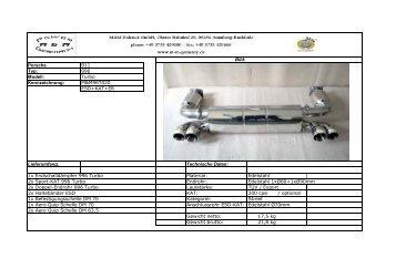 Bild: Porsche 911 Typ: 996 Modell: Turbo Kennzeichnung ...