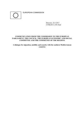 COM(2011) 292 - EUR-Lex