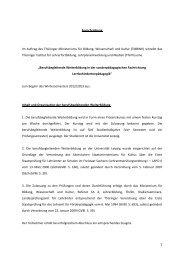 Ausschreibung Im Auftrag des Thüringer Ministeriums für Bildung ...