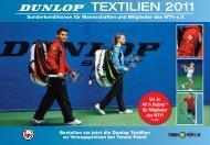bis zu 40 % Rabatt * für Mitglieder des WTV! - Tennis-Point.de