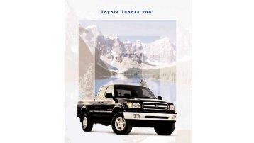 Toyota Tundra 2001 - Toyota Canada