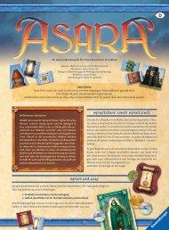 4 Asari - Kramer - Spiele