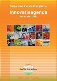 Programma Kas als Energiebron Innovatieagenda ... - Energiek2020