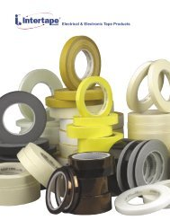 Electrical & Electronic Tape Products - Electrowind   Products for ...