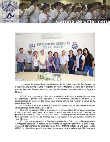 Experiencia de Enfermería en Salud Comunitaria. - Universidad de ...