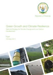 Rwanda Green Growth Strategy 18nov11 - Global Climate Change ...