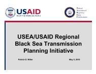 USEA/USAID Regional Black Sea Transmission Planning Initiative