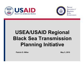 USEA/USAID Regional Black Sea Transmission Planning Initiative