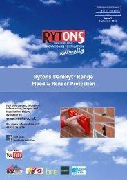 Rytons DamRyt® Range - Rytons Building Products Ltd.