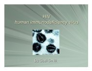 HIV - human immunodeficiency virus