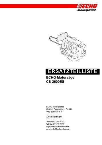 CS-2600ES - Eduard Ruf GmbH