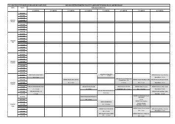 Mimarlık Bölümü 2012-2013 Güz Bütünleme Sınav Programı için ...