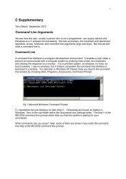 Command Line Args - tmarris.com