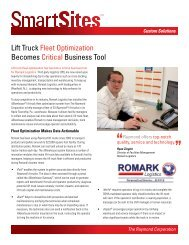 View Article in PDF Format - Raymond Corporation
