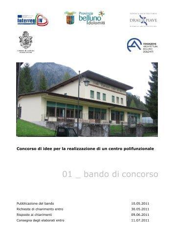 BANDO pdf - Ordine degli architetti di Bologna