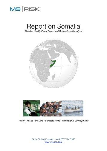 Report on Somalia ~ SUMMARY - JLT