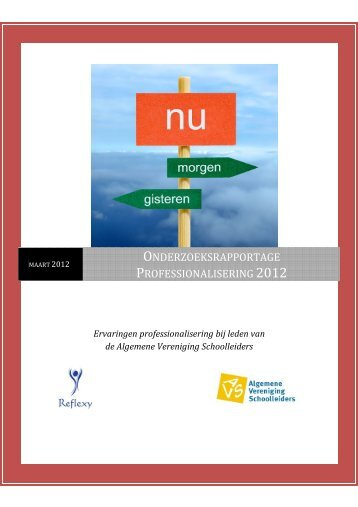 Onderzoeksrapportage professionalisering 2012.pdf - Avs