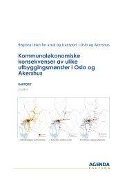 Konsekvensbeskrivelse - Oslo kommune