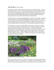 On Earth Day, April 22, 2009, Ontario passed its ban on ... - Ottawa