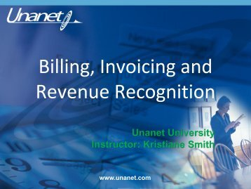 Resources and presentation notes - Unanet Technologies
