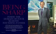 INSIDE THE DOMAIN OF FOUR SEASONS' FOUNDING FATHER