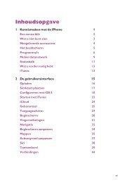 1 Kennismaken met de iPhone 1 2 De gebruikersinterface 15