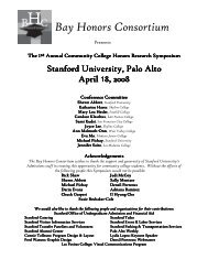 Program 2008 - What we have learned from others becomes our ...