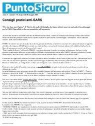 Stampa - Consigli pratici anti-SARS - PuntoSicuro