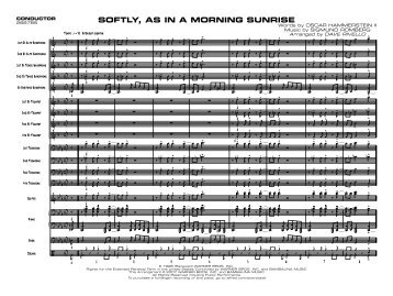 SOFTLY, AS IN A MORNING SUNRISE - Jazzwise