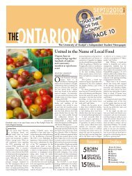 SEPT 2010 - The Ontarion
