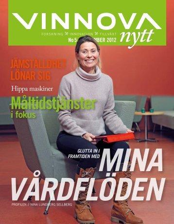 VINNOVA-nytt #5.2012