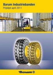 Prijslijst Barum industriebanden downloaden - Continental