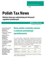 Polish Tax News - Ernst & Young