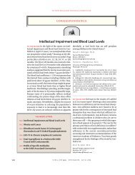 030731 Intellectual Impairment and Blood Lead Levels - Precaution