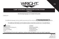 CLAW® II POLYAXIAL COMPRESSION PLATING SYSTEM 146870-0