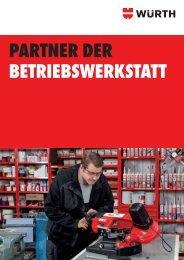 PARTNER DER BETRIEBSWERKSTATT - Würth