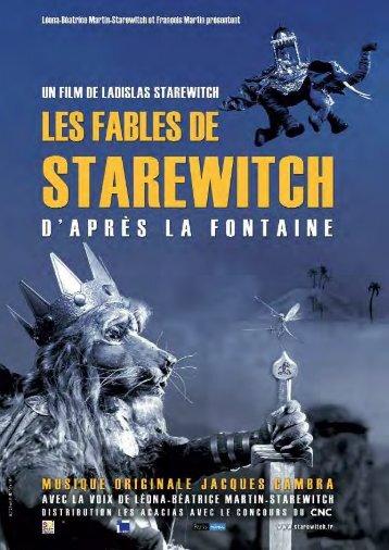 Les Fables de Starewitch d'après La fontaine - Dossier Pédagogique