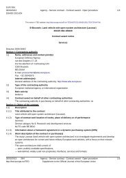 12.R&T.OP.336 Contract Award Notice - European Defence Agency
