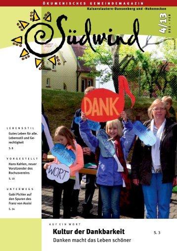 Südwind 4 / 13 - Pfarreiengemeinschaft St. Theresia