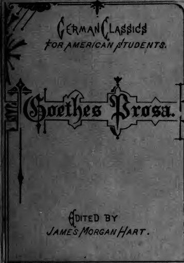 Ausgewählte Prosa; - Scholars Portal