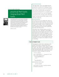 practical Perl tools: impractical Perl tools