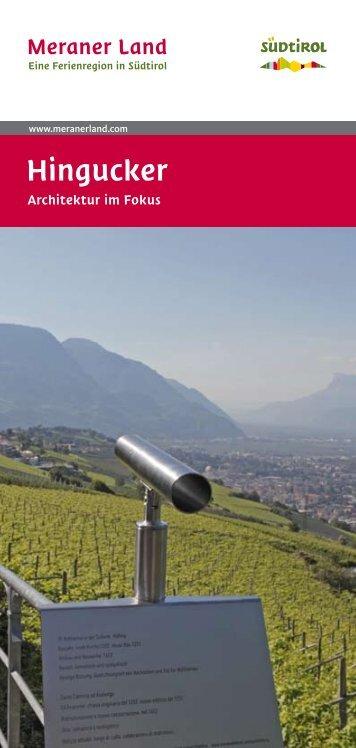 Hingucker-Broschüre - Meraner Land