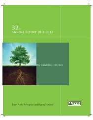 Download Annual Reports 2011-12 Pdf - TNPL