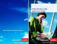 Public Wireless LAN. Quick User Guide.