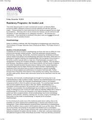 AMA - Print Page - School of Medicine & Health Sciences