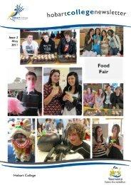 Hobart College Newsletter 2 2011 - Tasmanian Academy