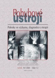 1+ 2/2003 - Společnost pro pojivové tkáně