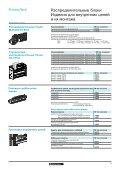 Распределительные блоки Изделия для внутренних цепей и их ... - Page 2