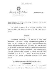 Art. 108, comma 2-bis, lettera b) del TUIR - Cesvov